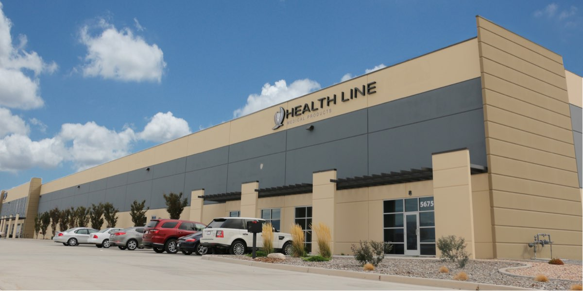 Health Line Medical Products facility in Salt Lake City, Utah