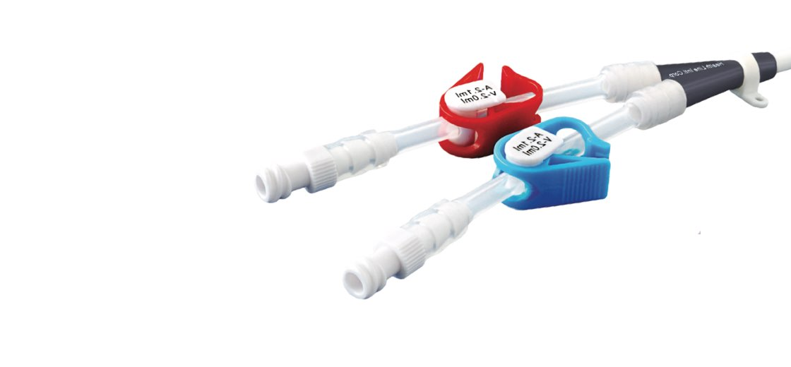 Taurus permanent hemodialysis catheter made by Health Line Medical Products